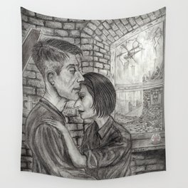 Winston and Julia Wall Tapestry