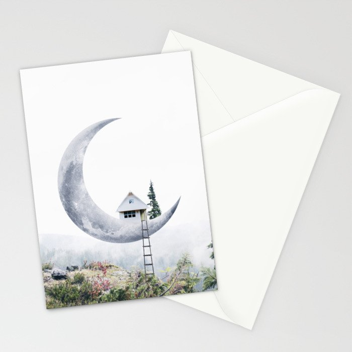 Moon House Stationery Cards