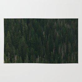Ketchikan Pine Trees Rug