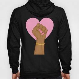 Black Lives Matter Power Fist Hoody