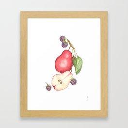 Fruits.... :\ Framed Art Print