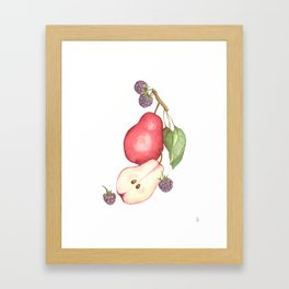 Fruits.... :\ Framed Art Print