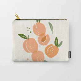 Contemporary Peaches Carry-All Pouch
