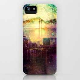 Abstract City Scape iPhone Case
