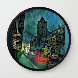 Chapel Street Nights Wall Clock