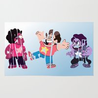 steven universe Area & Throw Rugs featuring Steven by pokegirl93