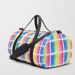 Pansexual Flag Duffle Bag