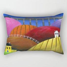 Hilly Hello Rectangular Pillow