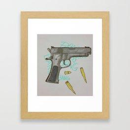 Bangbangbangbang Framed Art Print