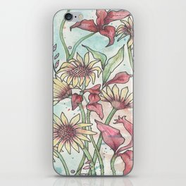 Flower Time iPhone Skin
