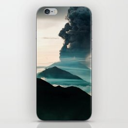 Mount Agung Volcanic Eruption iPhone Skin
