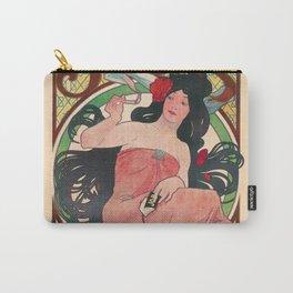 Art Nouveau Alphonse Mucha Job Detail Carry-All Pouch