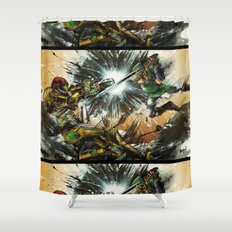 The Battlefield Shower Curtain