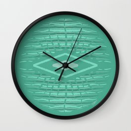 Content (Relaxed, Calm and Clear of Mind) Wall Clock