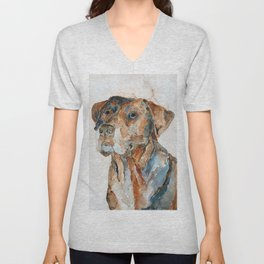 DOG#12 Unisex V-Neck