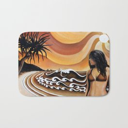 Beach Retreat by Michael Baker Bath Mat