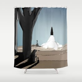 Initiate Shower Curtain