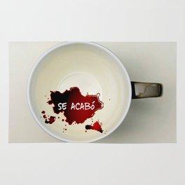 Se acabó... el café. Rug