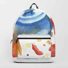 Autumn Cup Of Tea Backpack