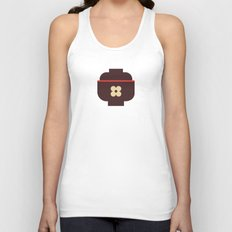 Japan Rice Bowl Unisex Tank Top