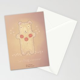 Christmas creatures- The Loving Bear Stationery Cards