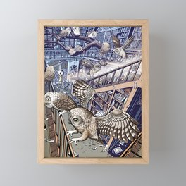 The Abandoned House Framed Mini Art Print