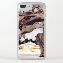 tangled tree Clear iPhone Case