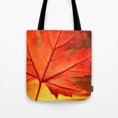 maple leaf - square Tote Bag