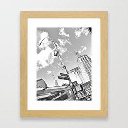 WHITEOUT : Turn Right Framed Art Print