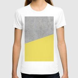 Concrete and Meadowlark Color T-shirt