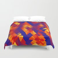 funky Duvet Covers featuring funky april  by MehrFarbeimLeben