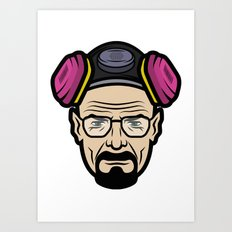 Walter White (Breaking Bad) Art Print