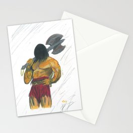Cimmerian zombie Stationery Cards