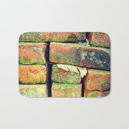 Green Stack Bath Mat