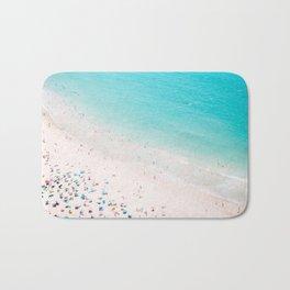 Beach Loving - Aerial Beach photography by Ingrid Beddoes Bath Mat