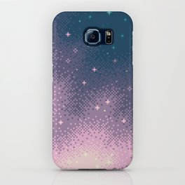 Lilac Nebula (8bit) iPhone Case