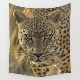 Leopard - On the Prowl Wall Tapestry