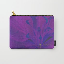 Star Gazer Lilly Up Close Solarized Colors Carry-All Pouch