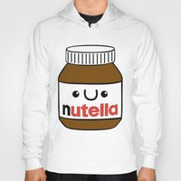 nutella Hoodies featuring Nutella Monster by Tushietweet