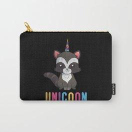 Unicoon Raccoon Unicorn Carry-All Pouch