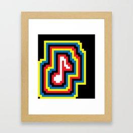 Music... BOOM! Framed Art Print
