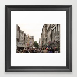 Busy Munich  Framed Art Print
