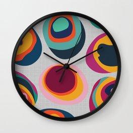 Rainbow Resin Wall Clock