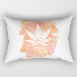 One Love: Coral Rectangular Pillow