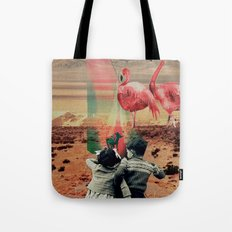 Pink Flamingos Tote Bag