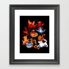Little Thronies Framed Art Print