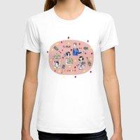 tennis T-shirts featuring tennis by Hui_Yuan-Chang