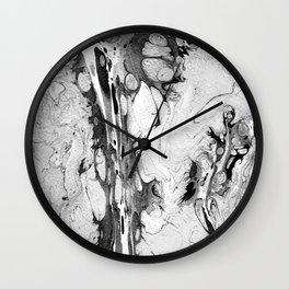 Handmade marble texture Wall Clock