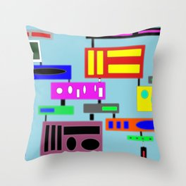 There is a park Throw Pillow