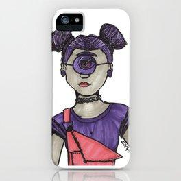 Grunge Cyclops iPhone Case